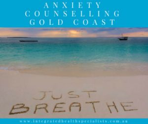Anxiety Counselling Gold Coast - beach, just breathe