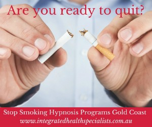 Stop Smoking Hypnosis Gold Coast, cigarette broken in half