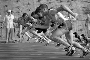 Performance Enhancement Hypnotherapy, athletes racing